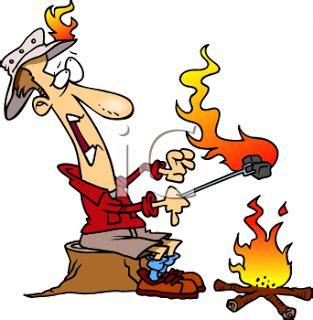 roasting marshmallows cartoon | clipart panda free