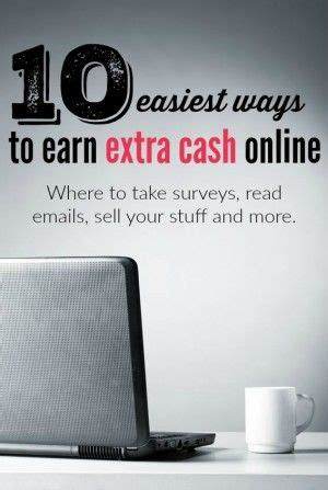 Easy Ways To Make Extra Money Online - 10 easiest ways to earn extra cash online extra cash and