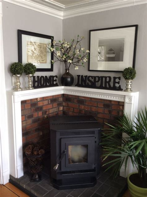 stove into room corner pellet stove great idea to what to do when you want to place a stove into the corner of