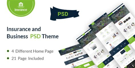themeforest insurance theme bank templates from themeforest