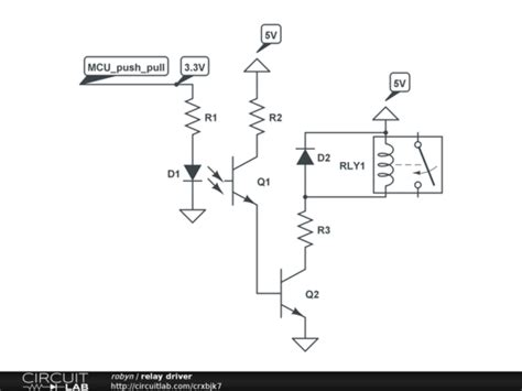 optocoupler transistor driver microcontroller driving a relay with transistor and opto