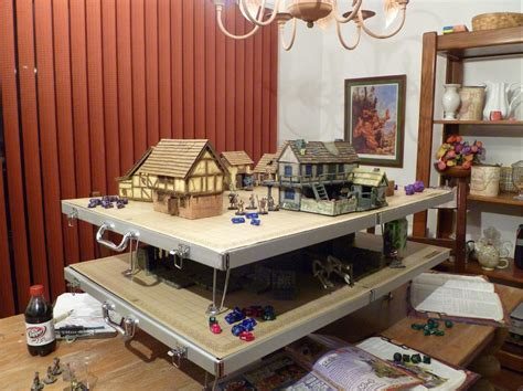 Battletop Game Table From Crystal Caste Releases Rpg Gaming Table