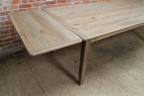 driftwood farm table with extensions ecustomfinishes