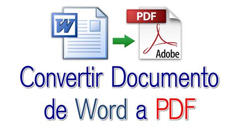 convertir muchas imagenes a un solo pdf convertir documento de word a pdf sin programas youtube