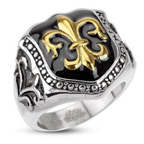 what is surgical steel made of ring made of surgical steel royal symbol shield