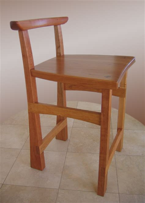 Cherry Bar Stools Hicks Woodworking 187 Cherry Bar Stools