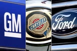 Gm Ford And Chrysler Gm Ford And Chrysler Almost Back To Pre Crash Employment