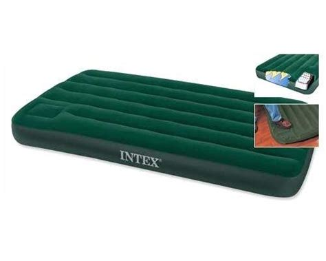 inflatable twin bed intex twin air bed 66927 camping inflatable mattress built