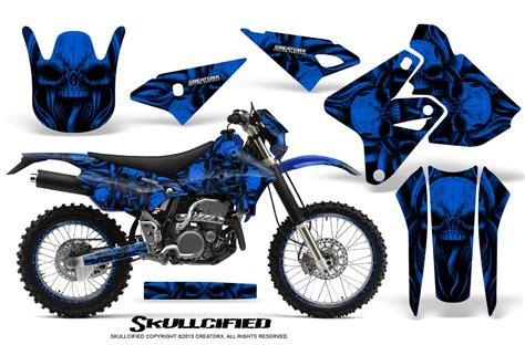 Suzuki Dirt Bikes Canada Suzuki Drz400 Enduro Creatorx Graphics Kit Skullcified