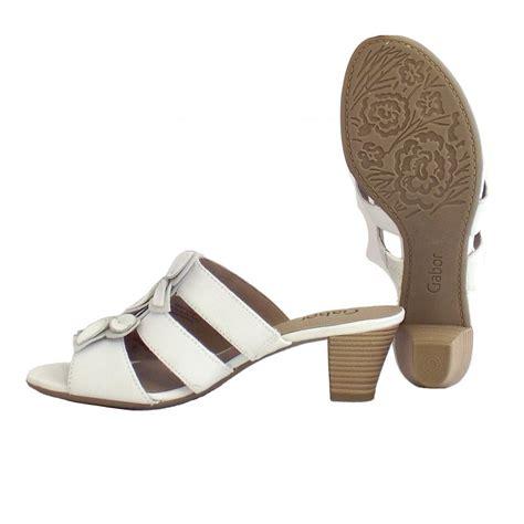 white slip on sandals gabor sandals keystone white slip on sandals mozimo