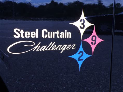 behind the steel curtain results of the top 5 poll cars and steelers football