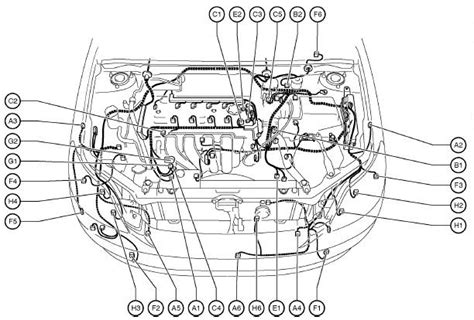 2005 toyota matrix engine diagram wiring diagram with