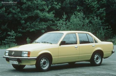 Opel Rekord Sedan Specs 1977 1978 1979 1980 1981