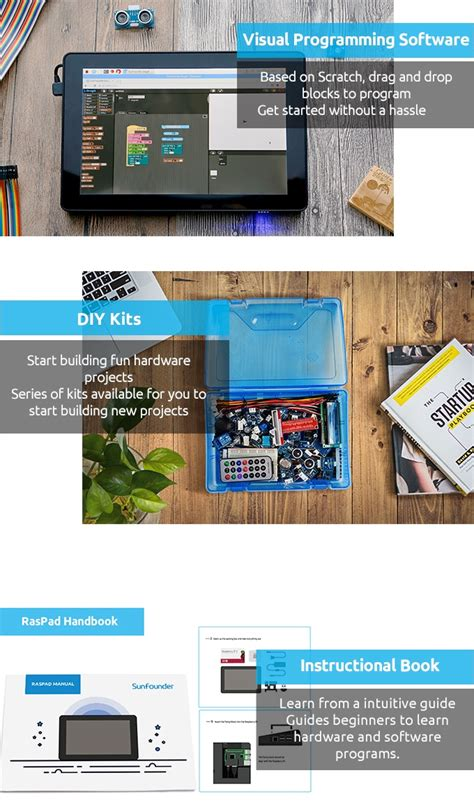E Book Raspberry Pi Program A Drone raspad raspberry pi tablet for your creative projects by
