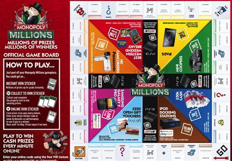 Monopoly Sweepstakes 2014 - when is mcdonalds monopoly for 2015 autos post