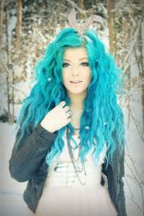 blue colored hair hair color trend dreamy blue hair pretty designs
