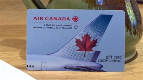 Canada Gift Cards - couple s travel plans grounded after air canada gift card emptied before activation