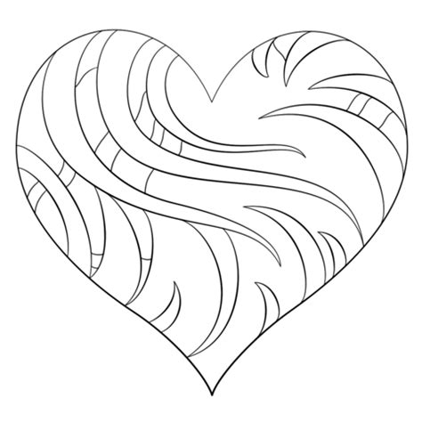 intricate valentine coloring pages click to see printable version of intricate heart coloring
