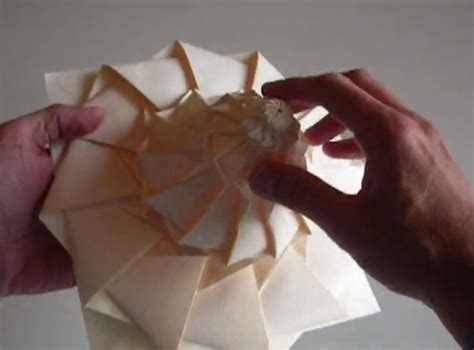 Chris Palmer Origami - chris k palmer s origami tessellations flower tower