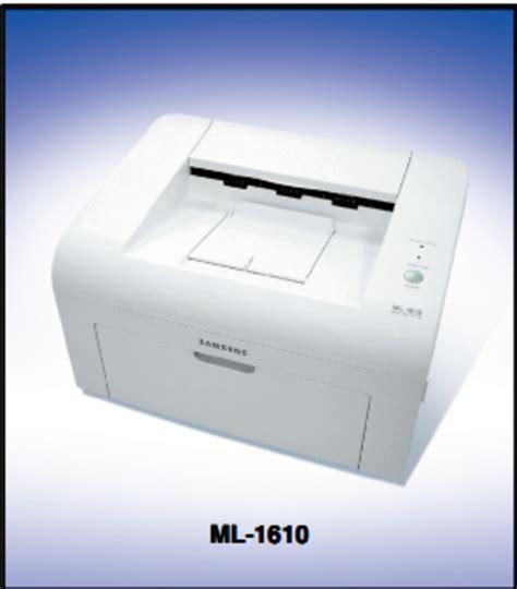 Printer Laser Samsung Ml 1610 samsung ml 1600 series ml 1610 xaa laser printer service repair