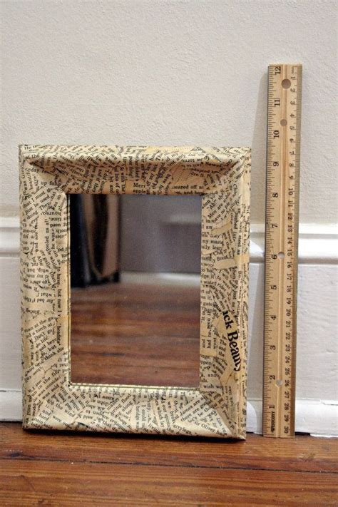 Decoupage Mirror - book decoupage small mirror quot black quot 7 1 2 x 9 1 2in