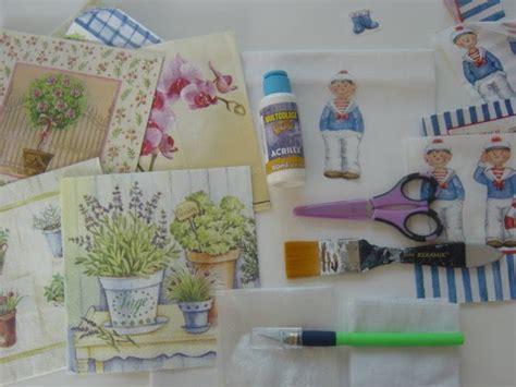 tutorial decoupage papel little things tutorial decoupage en tela
