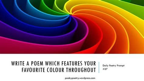 favourite colour pooky s poems a poem a day penned by pookyh