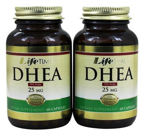 buy lifetime vitamins dhea 60 60 twin pack 25 mg