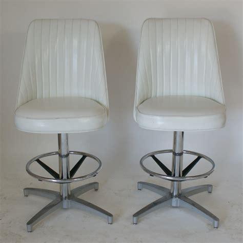 vintage bar stools ebay 2 vintage bar counter stools high back ebay