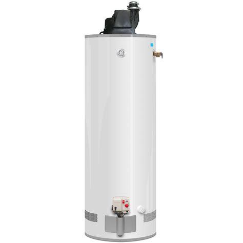 ge water heater ge 174 gas powervent water heater gp40t06pvt ge appliances