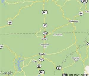 dillard map dillard vacation rentals hotels weather map and attractions