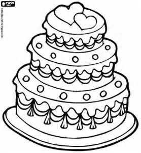 wedding cake coloring pages coloring pages to decorate wedding cake coloring pages
