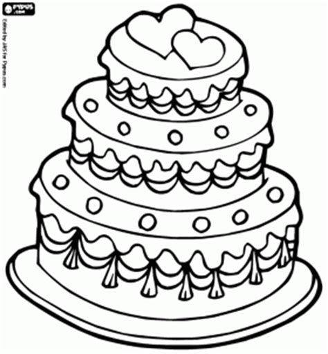 coloring pages wedding cake wedding day coloring pages book wedding reference