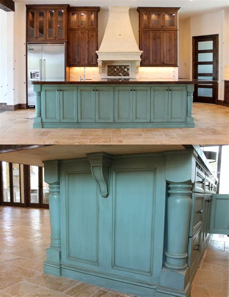 paint kitchen island best 25 painted island ideas on blue kitchen