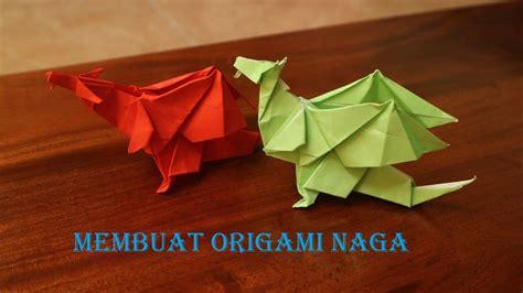 cara membuat origami naga merah cara membuat origami naga 3d dari kertas lipat youtube