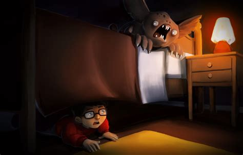 the monster under my bed monster under my bed by haico on deviantart