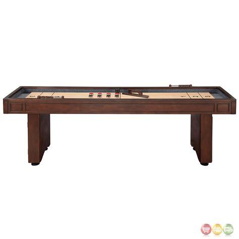 9 ft shuffleboard table 9 ft shuffleboard table with leg storage in