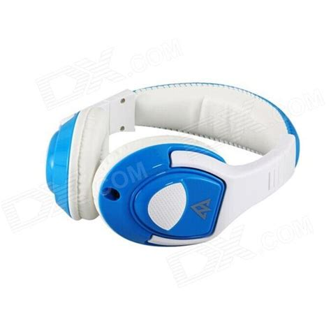 Headset Vykon Mobile Earphone Mq 44 Orange White vykon mq44 superb 3 5mm on ear headphones w microphone white blue 1 2m cable free