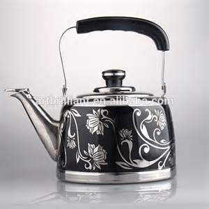 5 0l steel decorative tea kettles for azerbaijian market