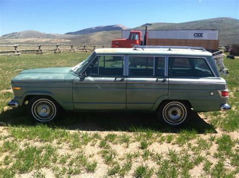 Used Jeep Wagoneer Sell Used 1975 Jeep Wagoneer In Dubois Wyoming United States