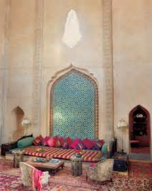 Moroccan Home Decor Country Home Designs Moroccan Decor Style Pink Divan Green Wall Decoration Classic Design