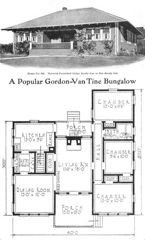 gordon van tine house plans best 25 vintage house plans ideas on pinterest bungalow house plans craftsman