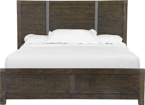Pine Bed Set Pine Hill Rustic Pine Panel Bedroom Set From Magnussen Home B3561 54h 54f 54r Coleman Furniture