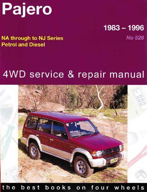 service manuals schematics 1996 mitsubishi pajero engine control mitsubishi pajero 4wd 1983 1996 gregorys owners service repair manual 1563928337