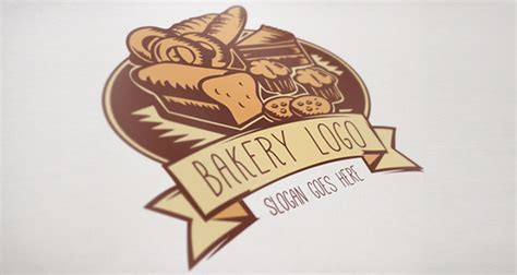 free bakery logo templates bakery logo template on behance