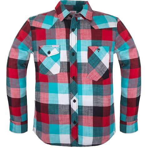 design checkered hoodie topo designs plaid flannel work shirt long sleeve men