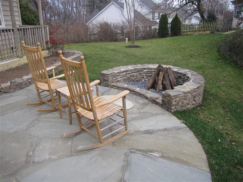 Stacked Stone Fire Pit Pictures To Pin On Pinterest Rock Firepit