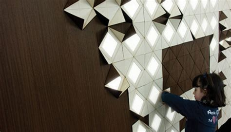 Origami Concept - light form a new take on one thousand points of light