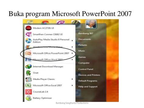 membuat powerpoint dari hp membuat bahan ajar dari ppt