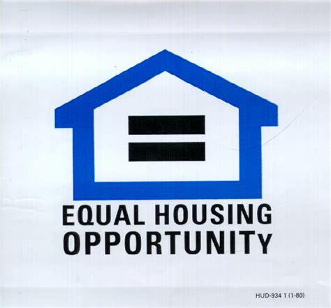 equal opportunity housing va home loan